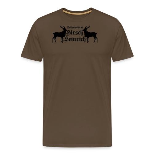 hirsch ostdeutschland - Männer Premium T-Shirt