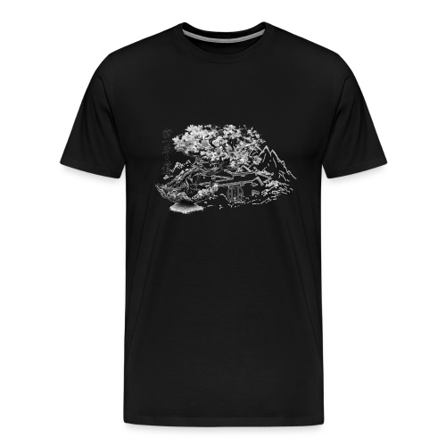 TempleSHITO transp GIF - T-shirt Premium Homme