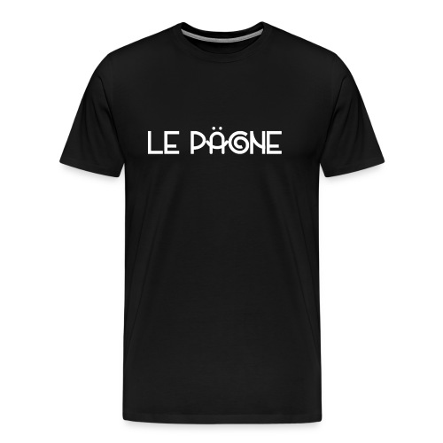 Le Pägne Logo Blanc - T-shirt Premium Homme
