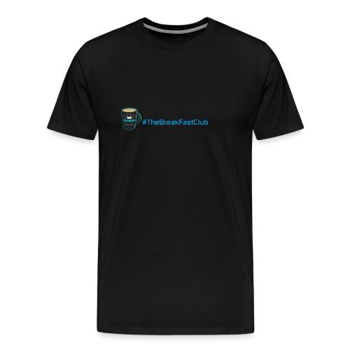 mug plus text - Men's Premium T-Shirt