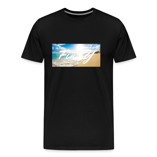 FinlY Beach - Men's Premium T-Shirt