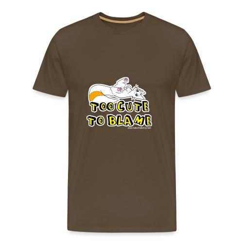 Too Cute To Blame - Men's Premium T-Shirt