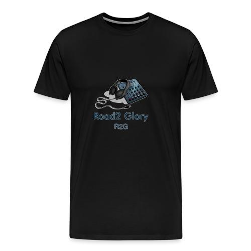 Road2 Glory Logo - Men's Premium T-Shirt