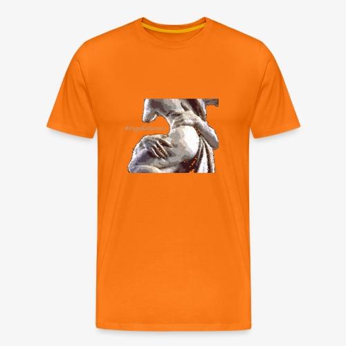 #OrgulloBarroco Rapto difuminado - Camiseta premium hombre