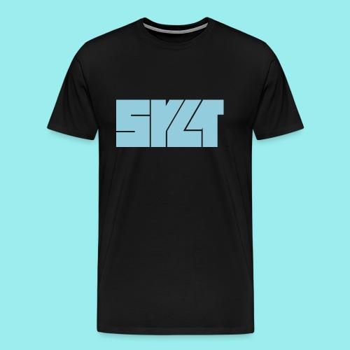 SYLT Block blau - Männer Premium T-Shirt