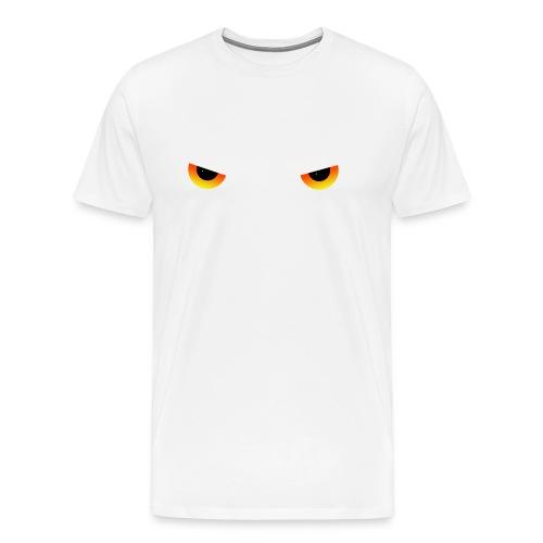 Augen feurig - Männer Premium T-Shirt