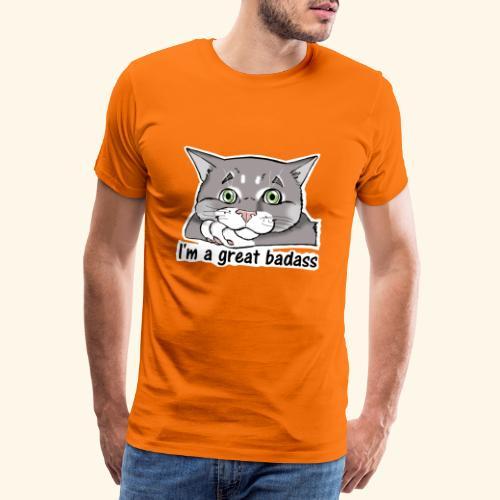 Nice Dogs CATS - Maglietta Premium da uomo