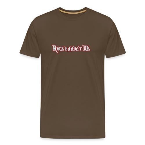 Rockbandet.DK - Herre premium T-shirt