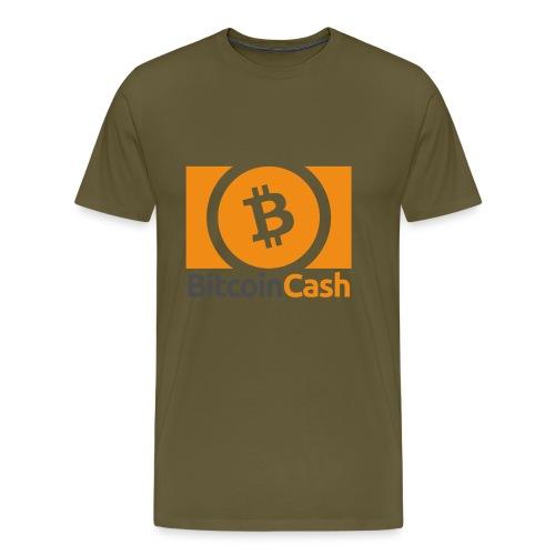 Bitcoin Cash - Miesten premium t-paita