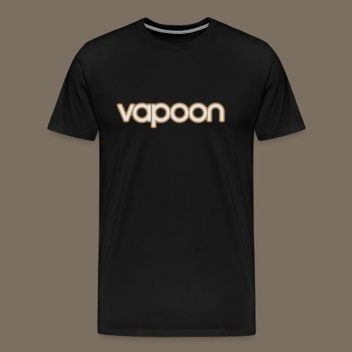 Vapoon Logo simpel 2 Farb - Männer Premium T-Shirt