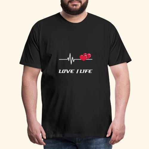 1D67C876 4E58 4BF9 B505 49236ACBFD34 - Herre premium T-shirt