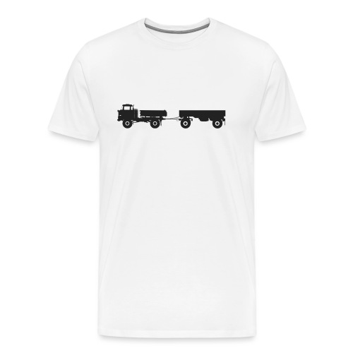 IFA LKW W50 LA 3 SK mit HW80 - Männer Premium T-Shirt