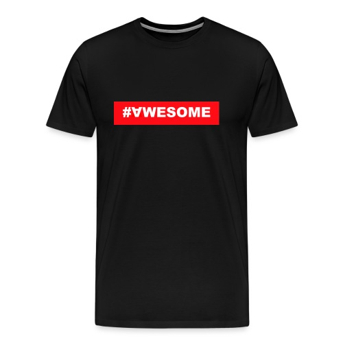 Awesome logo jpg - Männer Premium T-Shirt