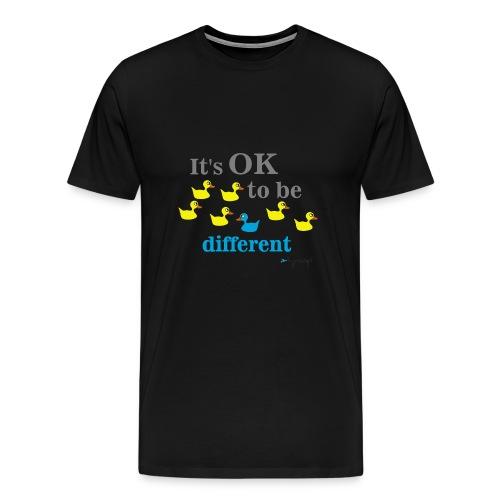 It's OK to be different - Koszulka męska Premium