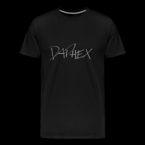 DAPHEX gray - Männer Premium T-Shirt