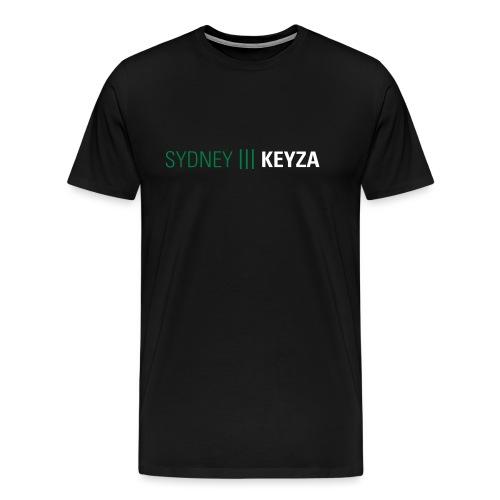 Sydney 3 Logo - Männer Premium T-Shirt