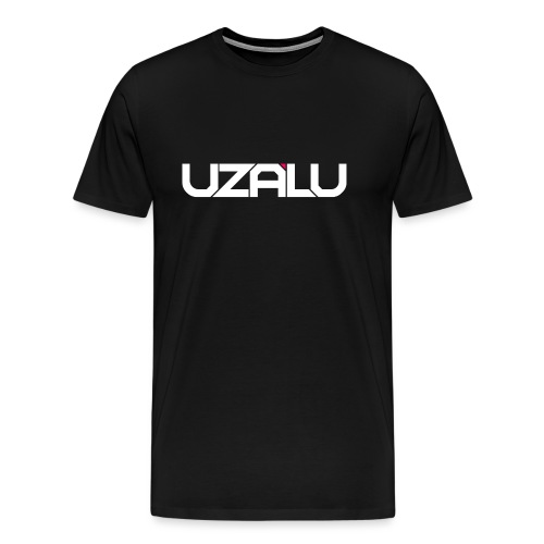 uzalu Text Logo - Men's Premium T-Shirt