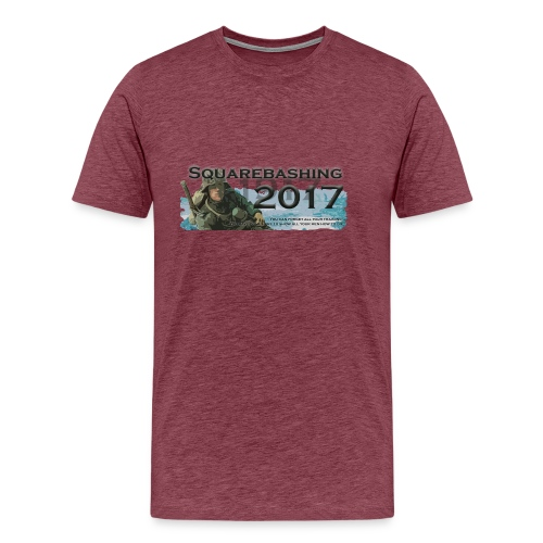 squarebashing 2017 - Men's Premium T-Shirt