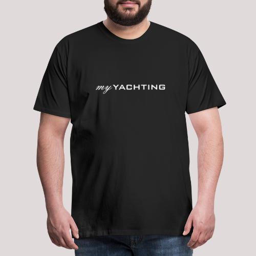 MyYachting weiss - Männer Premium T-Shirt