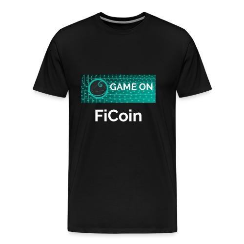 GameOn Light Tekst - Mannen Premium T-shirt