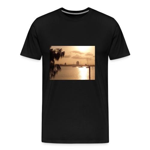 brisbane paysage - T-shirt Premium Homme