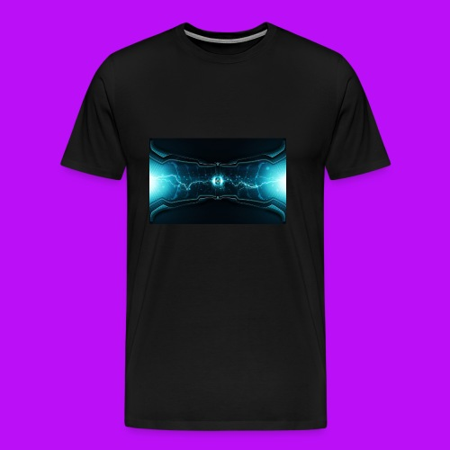 lightning cell - Men's Premium T-Shirt