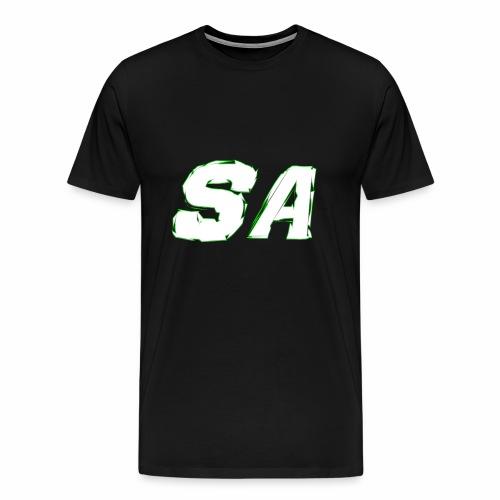 Vit SA Logo - Premium-T-shirt herr