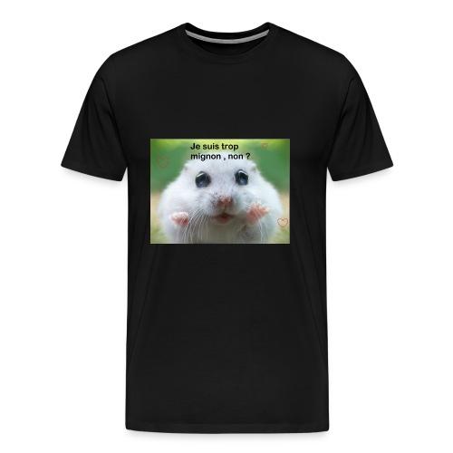 Animal trop mignon - T-shirt Premium Homme