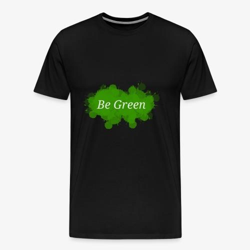Be Green Splatter - Men's Premium T-Shirt