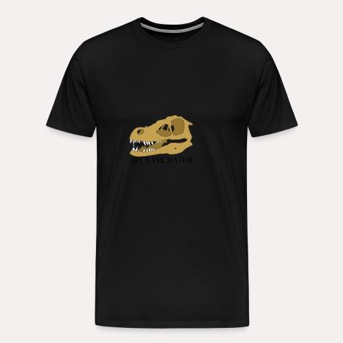 Apex Predator velociraptor design - Men's Premium T-Shirt