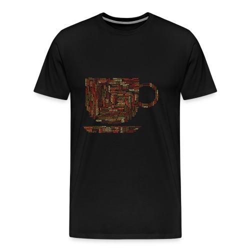 Cup - Premium-T-shirt herr