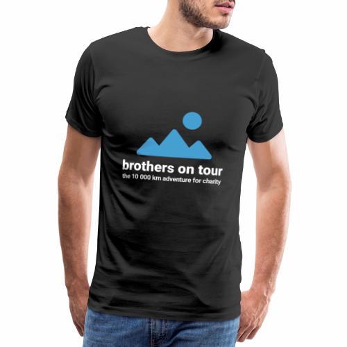 Brothers on Tour - Logo 1 - Männer Premium T-Shirt