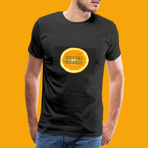 Orange_Logo_Black - Men's Premium T-Shirt