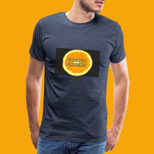 Orange_Logo_Black - Men's Premium T-Shirt