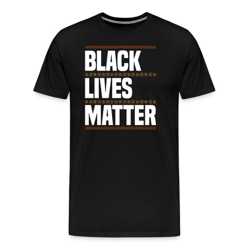 Black Lives Matter Black Pride African American - Männer Premium T-Shirt
