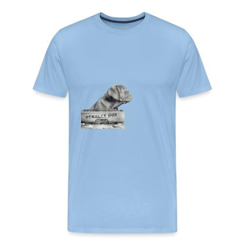 Penalty Box - Herre premium T-shirt