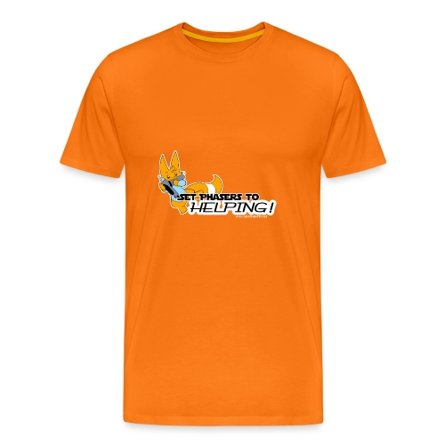Set Phasers to Helping - Men's Premium T-Shirt