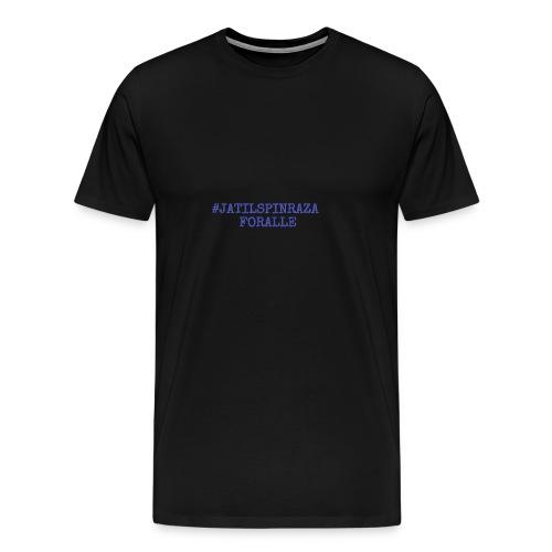 #jatilspinraza - blå - Premium T-skjorte for menn