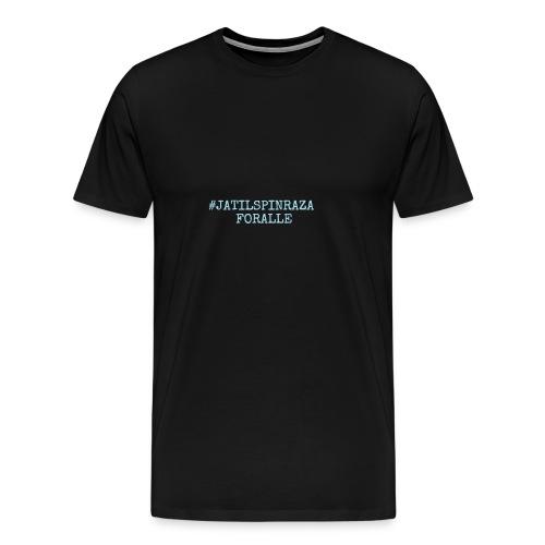 #jatilspinrazaforalle - lysblå - Premium T-skjorte for menn