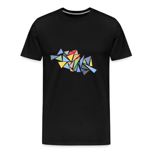 Modern Triangles - Men's Premium T-Shirt