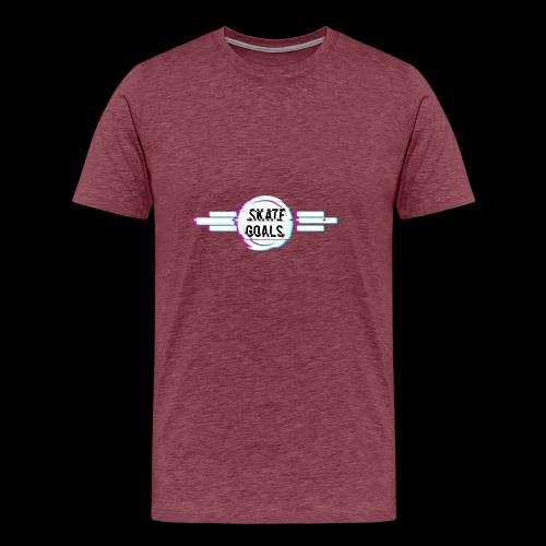 GLITCH SERIES - Mannen Premium T-shirt