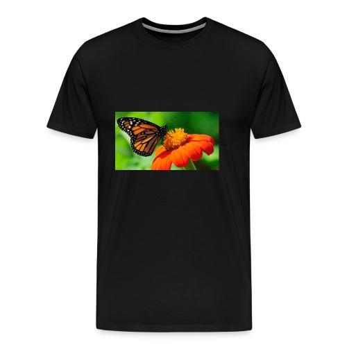 butterfly - Premium T-skjorte for menn