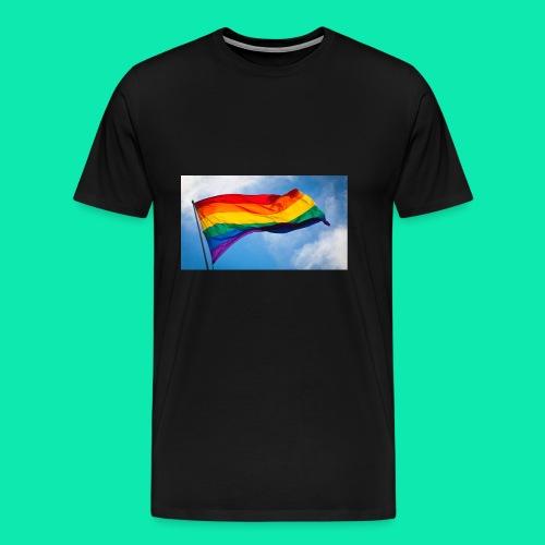 Pride- Flag - Men's Premium T-Shirt
