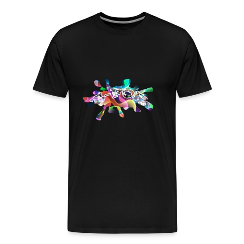 T-FOR Splash - Men's Premium T-Shirt
