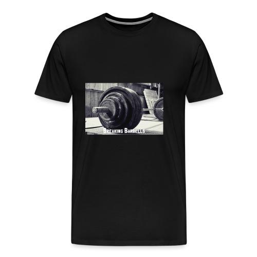Breaking Barbells - Men's Premium T-Shirt