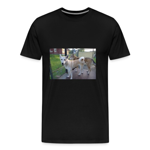 L1000041 - Premium T-skjorte for menn