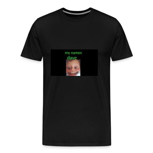 Dave merchandise - Men's Premium T-Shirt
