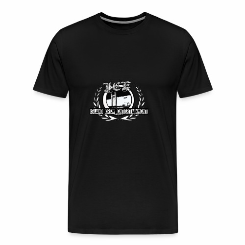 Island Crew Entertainment - Premium-T-shirt herr