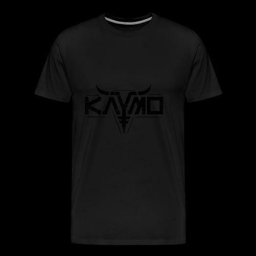 LOGO ALONE GRUNGE FOR DIGITAL PRINT ONLY BLACK - Premium T-skjorte for menn