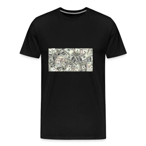 dollar - Premium-T-shirt herr